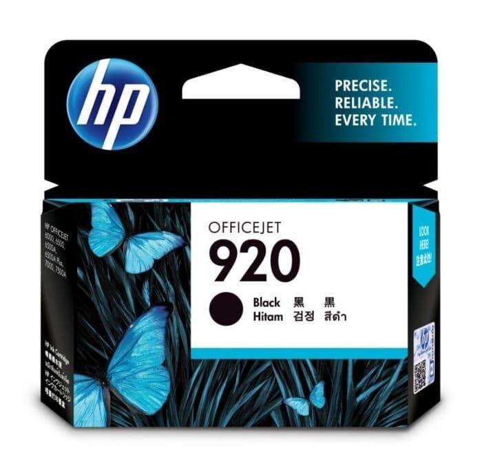 HP Black Ink Cartridge 920 [CD971AA]