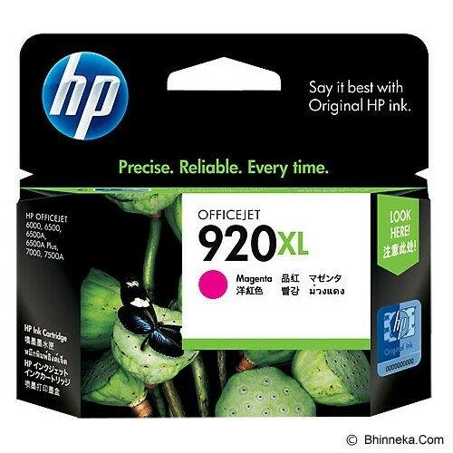 HP Magenta Ink Cartridge 920XL [CD973AA]