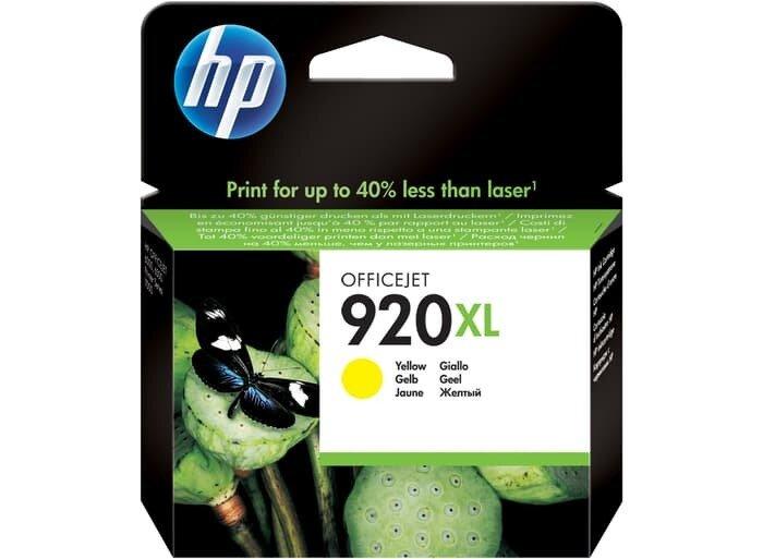 HP Yellow Ink Cartridge 920XL [CD974AA]