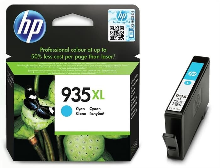 HP Cyan Ink Cartridge 935 XL [C2P24AA]