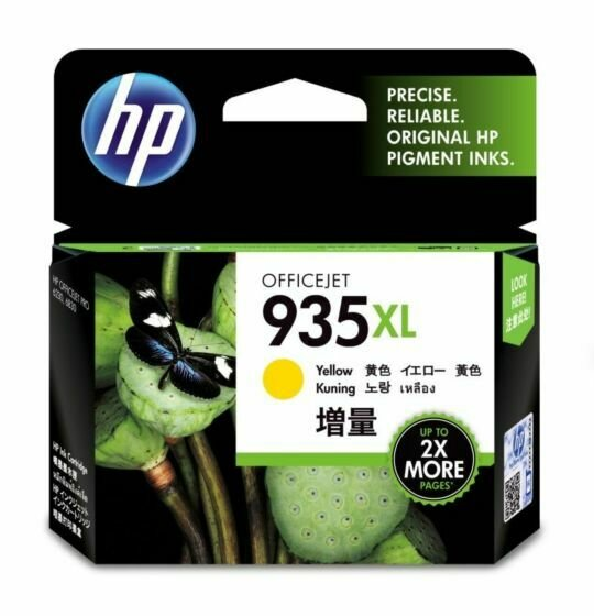 HP Yellow Ink Cartridge 935 XL [C2P26AA]