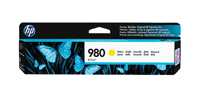 HP Yellow Ink Cartridge 980 [D8J09A]