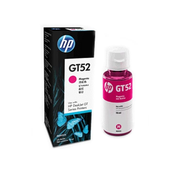 HP Magenta Original Ink Bottle GT52 [M0H55AA]