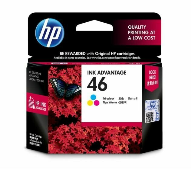 HP Tri-color Ink Cartridge 46 [CZ638AA]