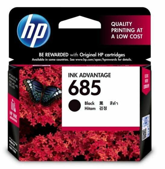 HP Black Ink Cartridge 685 [CZ121AA]