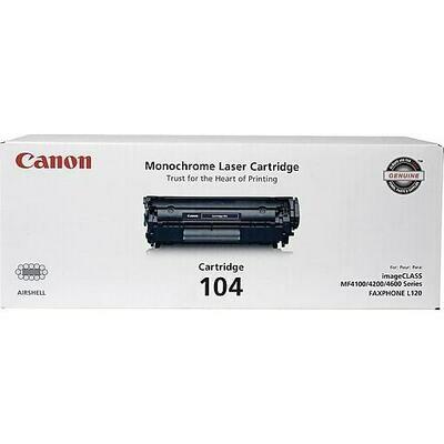 Canon Black Toner Cartridge  104