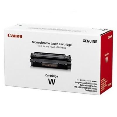 Canon Black Toner Cartridge W