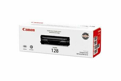 Canon Black Toner Cartridge  128