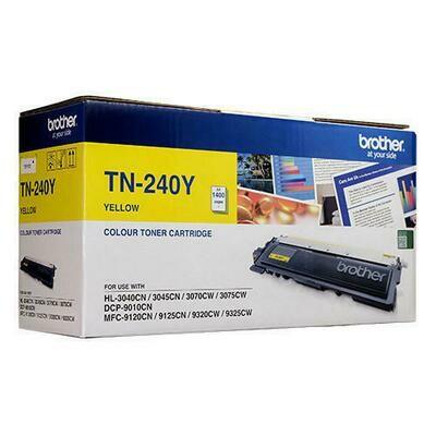 BROTHER Printer TN-240 Yellow Toner