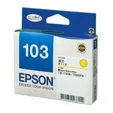 EPSON Yellow Ink Cartridge 103