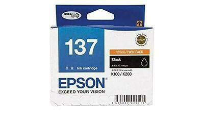 EPSON Black Ink Cartridge 137