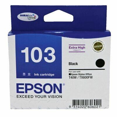 EPSON Black Ink Cartridge 103