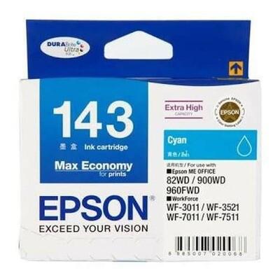 EPSON Cyan Ink Cartridge 143