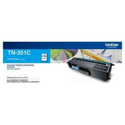 BROTHER Printer TN-351 Cyan Toner