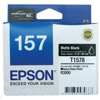 EPSON Matte Black Ink Cartridge 157
