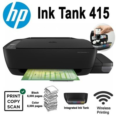 HP Printer Ink Tank Wireless 415