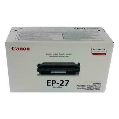 Canon Black Toner  Cartridge [EP-27]
