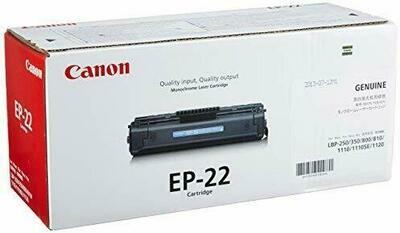 Canon Black Toner  Cartridge [EP-22]