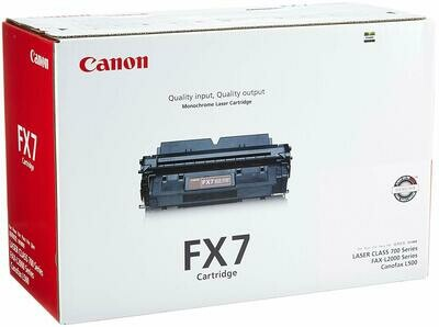 Canon Black Toner  Cartridge [FX-7]