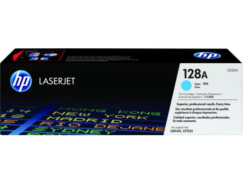 HP 128A Black Toner Cartridge [CE320A]