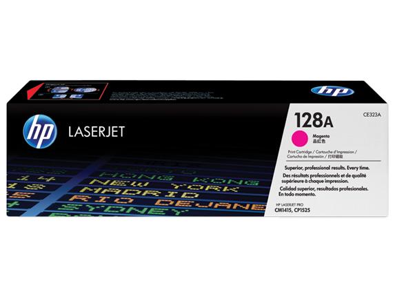 HP 128A Yellow Toner Cartridge [CE322A]