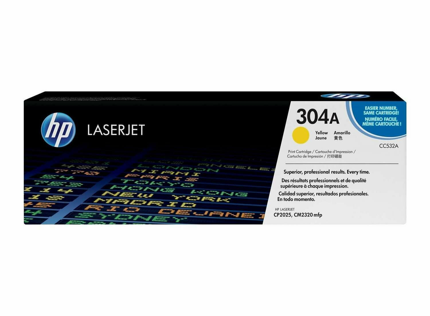 HP 304A Yellow Toner Cartridge [CC532A]