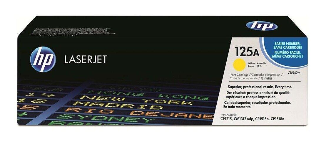 HP 125A Yellow Toner Cartridge [CB542A]