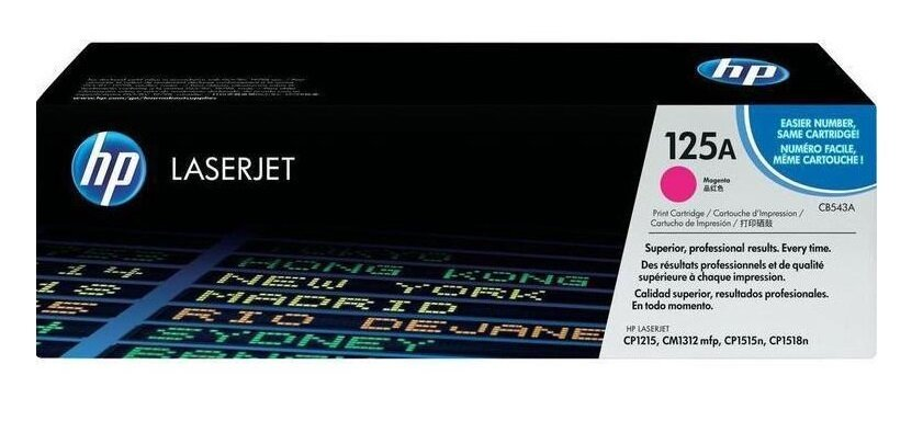 HP 125A Magenta Toner Cartridge [CB543A]