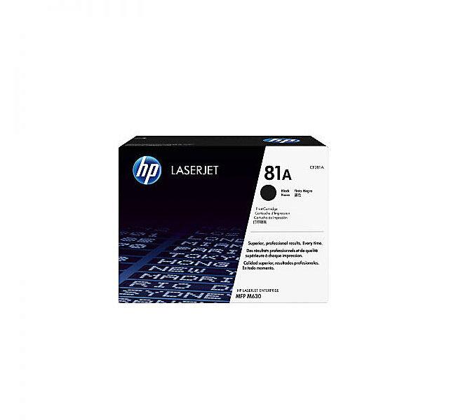 HP 81A Black Toner Cartridge [CF281A]