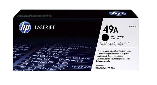 HP 49A Black Toner Cartridge  [Q5949A]
