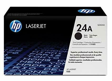 HP 24A Black Toner Cartridge [Q2624A]