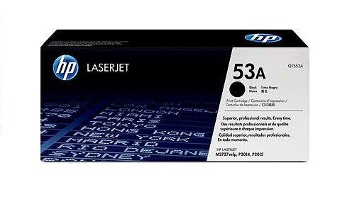 HP 53A Black Toner Cartridge [Q7553A]