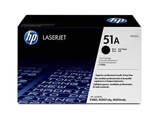 HP 51A Black Toner Cartridge [Q7551A]