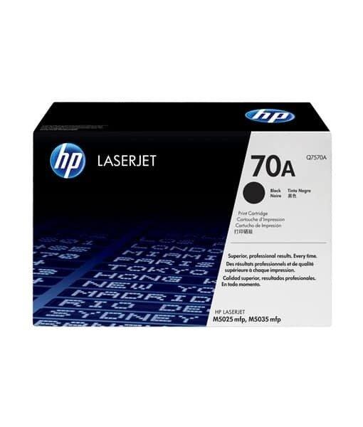 HP 70A Black Toner Cartridge [Q7570A]