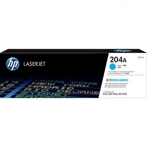HP 204A Cyan LaserJet Toner Cartridge [CF511A]