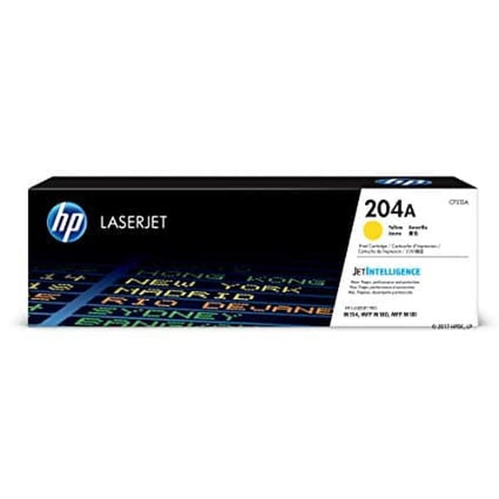 HP 204A Yellow LaserJet Toner Cartridge [CF512A]