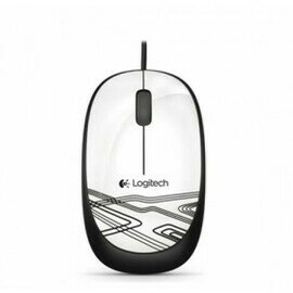 Logitech M 105 Mouse - White
