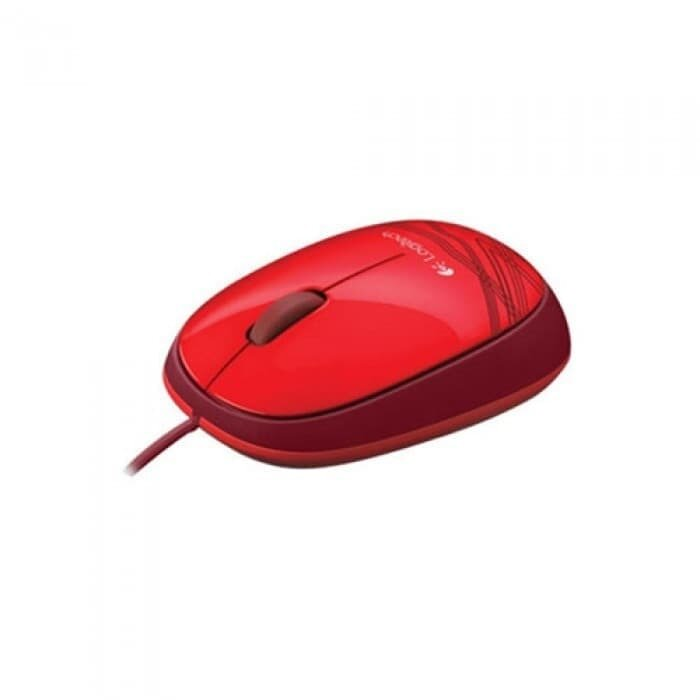 Logitech M 105 Mouse - Red