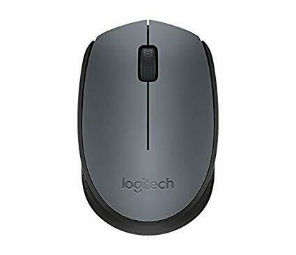 Logitech M 171 Wireless Mouse - Grey