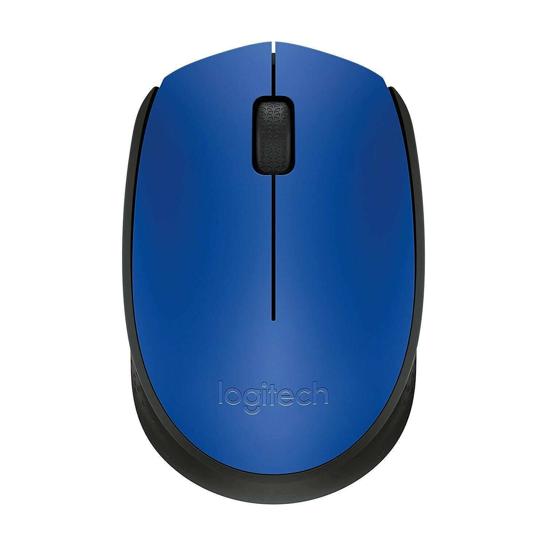 Logitech M 171 Wireless Mouse - Blue