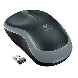Logitech M 185 Wireless Mouse - Swift Grey
