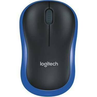 Logitech M 185 Wireless Mouse - Blue