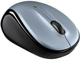 Logitech M 325 Wireless Mouse - Light Silver