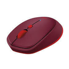 Logitech M 337 Bluetooth Mouse - Red