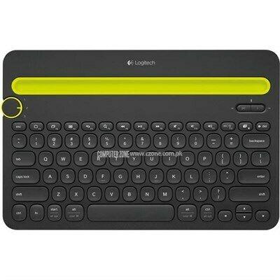 Logitech K 480 Bluetooth Multi-Device Keyboard - Black
