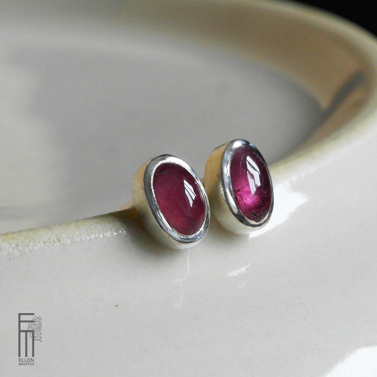 TURMALINA ROSA - Ohrringe mit Turmalin - pendientes con turmalina pendientes turmalina rosa