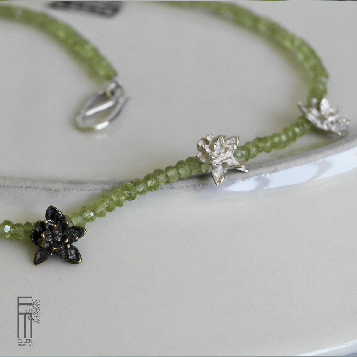 TAVIRA -  Peridotkette - collar de peridoto collar peridoto tavira