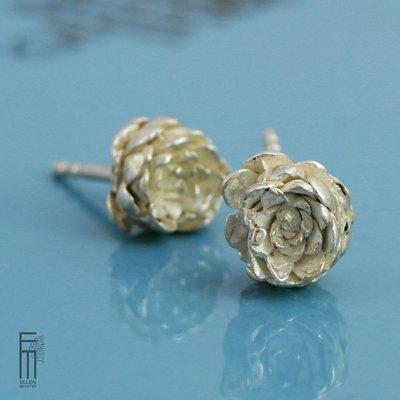 SUCI - Ohrringe aus Silber - pendientes de plata