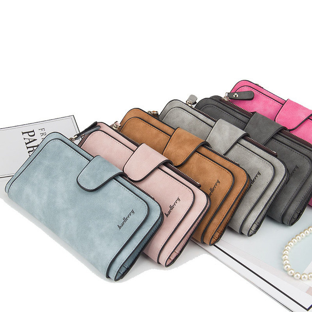 Baellerry Leather Women Casual Wallets 00001