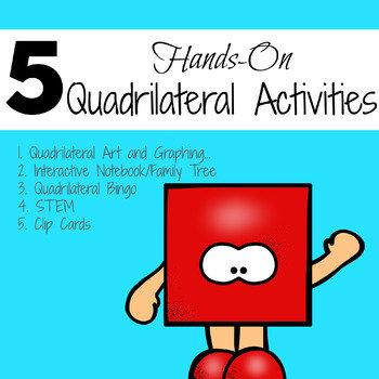 5 Quadrilateral Activities